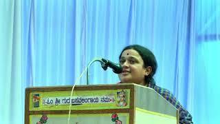 Kannada Best inspection speech by a former lady ,