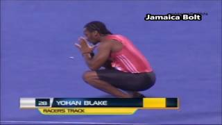 Usain Bolt Pulls Out Of Race To Make Yohan Blake Win 100m  Final At Jamaica Olympic Trials 2016
