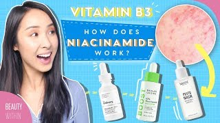 How to Use Niacinamide to Minimize Large Pores, Brightening and Clear Skin In Your Skincare Routine