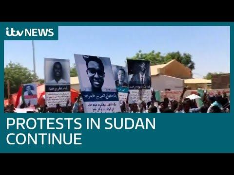 Anti-government protests in Sudan continue | ITV News