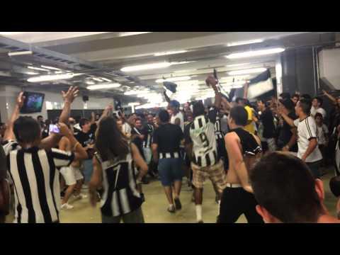 """""""Eu Sou um Louco + Contigo que eu quero estar - Botafogo x Goias"""" Barra: Loucos pelo Botafogo • Club: Botafogo"""