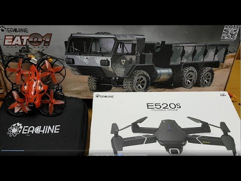 Eachine E520S, Cinecan, EAT01 review