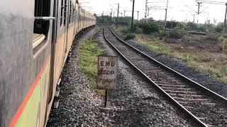 BZA GNT MEMU Departure || GNT NS PASSENGER Arrival || Nambur ||