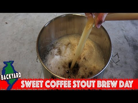 Coffee Sweet Stout All Grain Home Brew Day