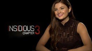 Insidious Chapter 3 Official Trailer And Cast Interview Stefanie Scott Dermot Mulroney & More