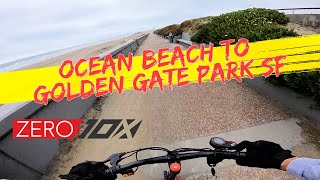 Zero 10x Electric Scooter Ocean Beach to Golden Gate Park | GoPro Hero 7 RAW FPV Bodycam Footage