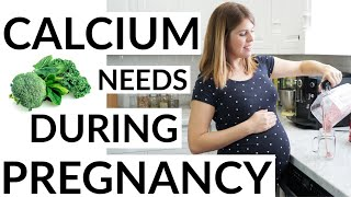 Calcium Needs for a Plant-Based Pregnancy