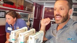 Mike & WooWoo Visit CHKD: Ambulance