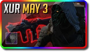 "Destiny 2 - Xur Location & Exotic Armor & Xur Bounty ""Huckleberry"" 5/3/2019 (Xur May 3)"