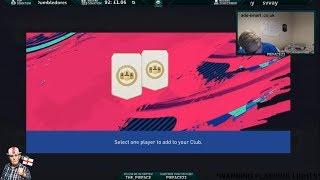 SICK RED CARD!!! MY WEEKEND LEAGUE REWARDS - FIFA 19