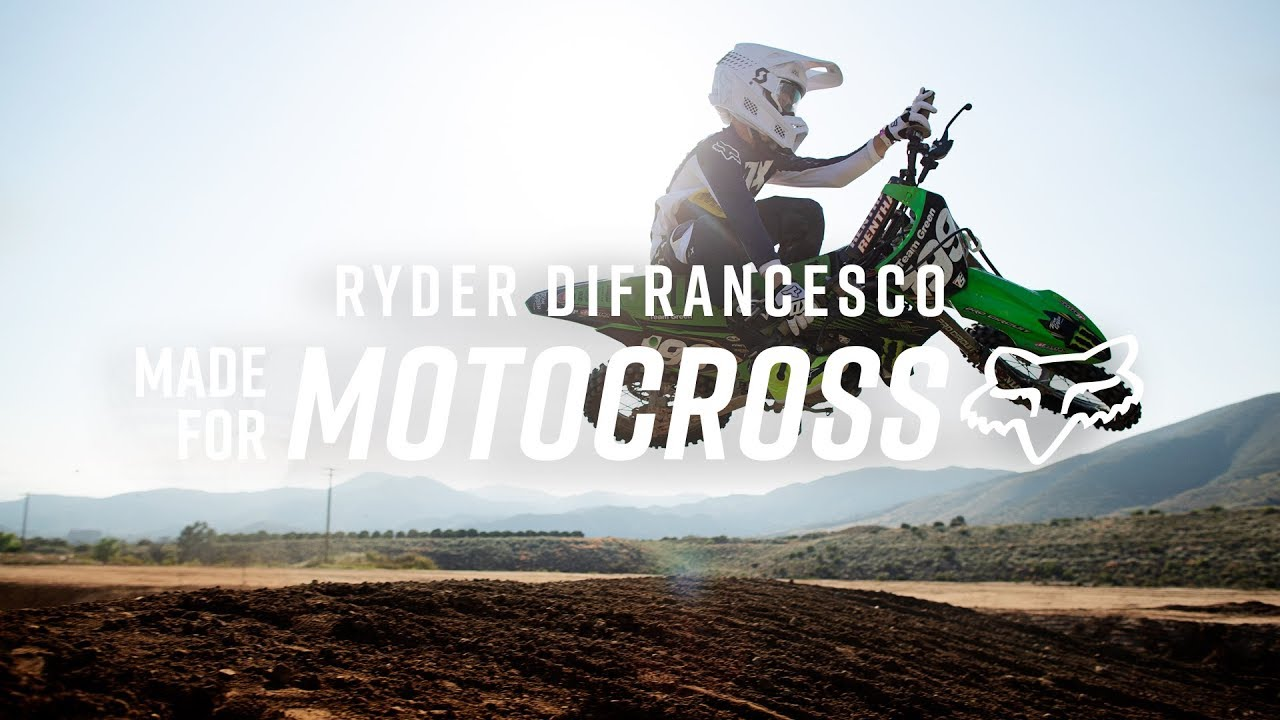 MX20 IS MADE FOR RYDER DIFRANCESCO
