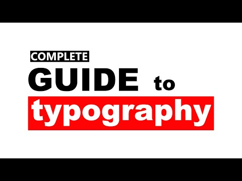 ⌨ What is TYPOGRAPHY in Graphic Design / 🌍 Web Design | How to Master TYPOGRAPHY - Hindi Tutorial