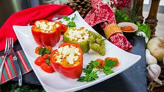 Kellan Lutz & Brittany Gonzaless Stuffed Christmas Peppers - Home & Family