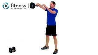 Kettlebell Cardio Workout by FitnessBlender.com by FitnessBlender