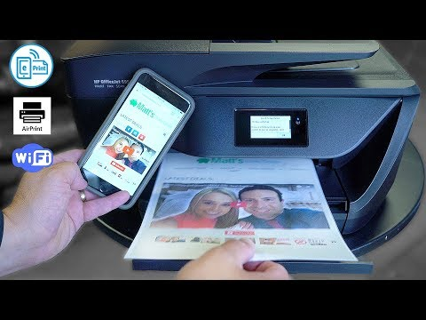 Best HP All-in-One Printer Review – Print DIRECT from iPhone/Android!