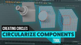 Maya's Circularise Components Tool
