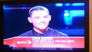 The Voice, Adam, Chris after Cry Me A River, young Jedi, welcome congrats