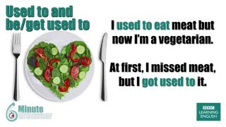 GRAMMAR: Understanding 'used To', 'be Used To' And 'get Used To'