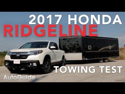 2017 Honda Ridgeline Towing Test