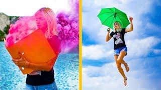 15 lustige und Kreative Fotoideen / Coole Instagram Foto-Hacks