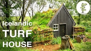 Beautiful Tiny Turf House in Iceland - Full Tour & Interview