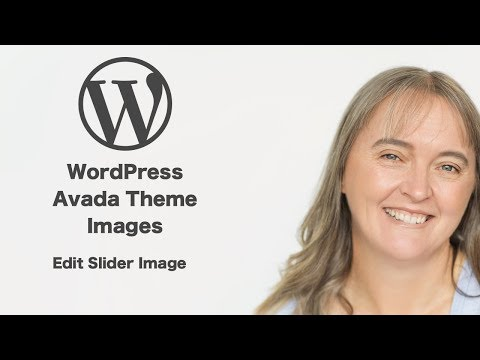 WordPress - Avada Theme - Edit Slider Images