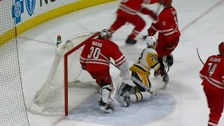 Ward gets away with vicious slash on Hornqvist
