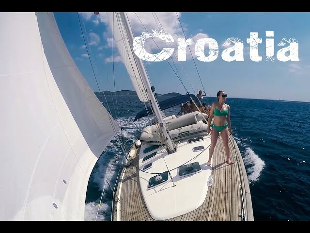 Yacht sailing Croatia + hidden places tips  Perniczech  (HD)