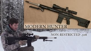 Alberta Tactical Rifles Modern Hunter HandsOn NonRestricted Canadian 308 Rifle