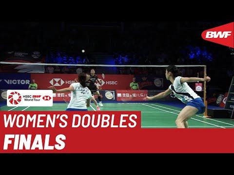 F | WD | BAEK/JUNG (KOR) vs. CHEN/JIA (CHN) [4] | BWF 2019