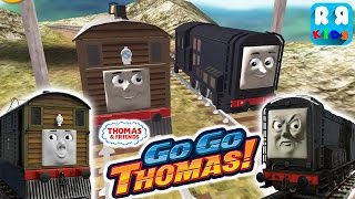 Thomas & Friends: Go Go Thomas! - Toby Vs Diesel