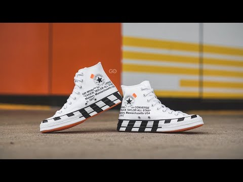 "Off-White x Converse Chuck 70 ""Stripe"" Review – Sean Go a089bd205"
