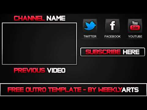 Download youtube to mp3 template 1 outro template by weeklyarts pronofoot35fo Choice Image