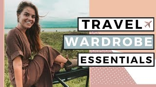 Travel Outfits | Top 7 Travel Wardrobe Essentials