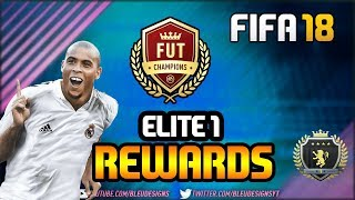 FIFA 18 | OMG! INSANE INFORM PACKED IN ELITE 1 FUT CHAMPIONS REWARDS! | ULTIMATE TEAM WEEKEND LEAGUE