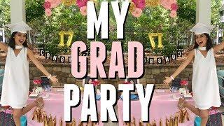 MY GRADUATION PARTY VLOG