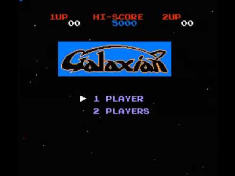 Galaxian (NES) Music - Game Start