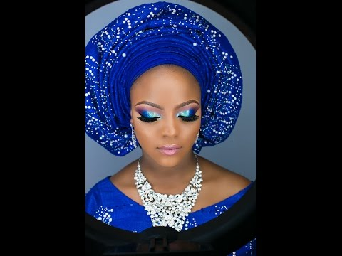 Nigerian Bridal look