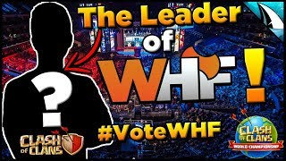 Do you know who this is? Time to Vote for WHF! #VOTEWHF | Clash of Clans