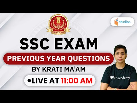 SSC Exams   GS by Krati Singh   Previous Year Questions