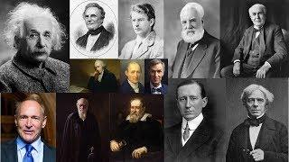 Top/Best Scientist & their Invention