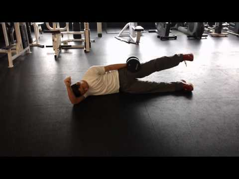 Dumbbell Hip Abduction