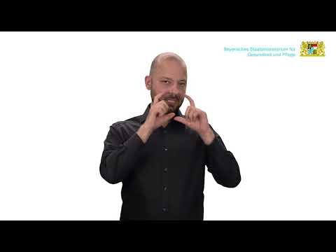Häufige Fragen zum Mund-Nasen-Schutz – Teil 7 – in Deutscher Gebärdensprache