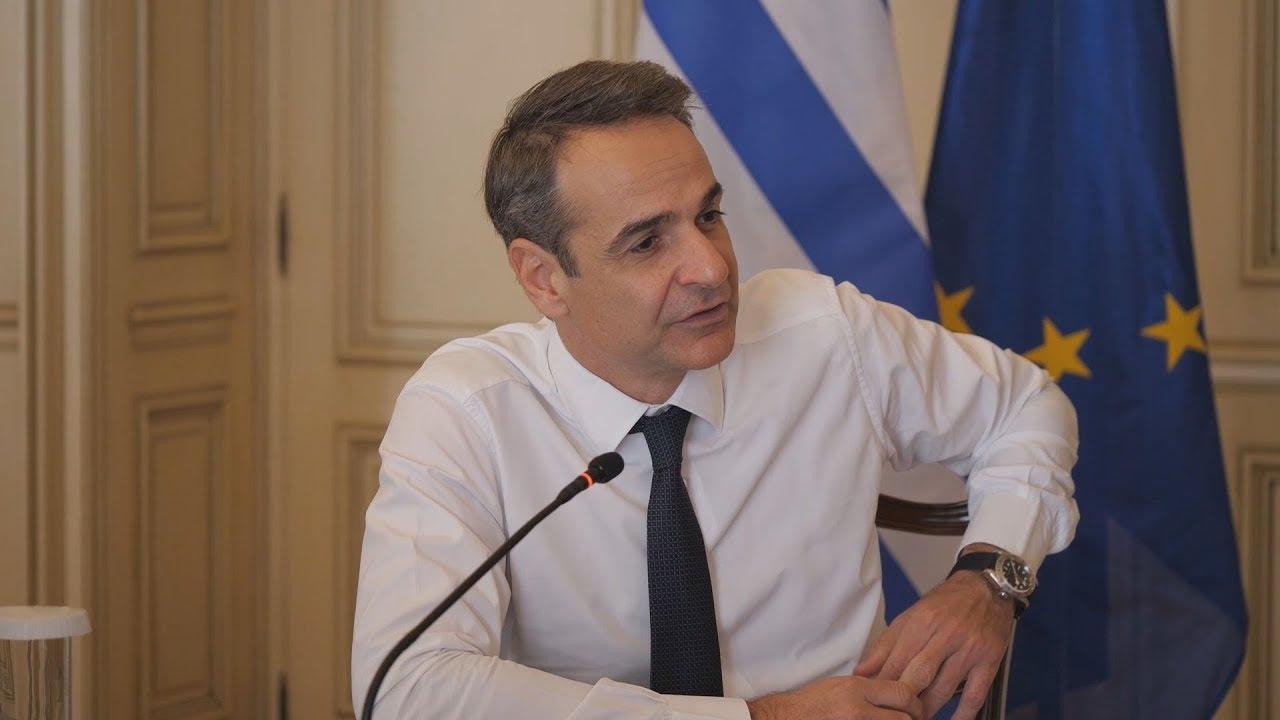 Τηλεδιάσκεψη του πρωθυπουργού με στελέχη του τραπεζικού συστήματος