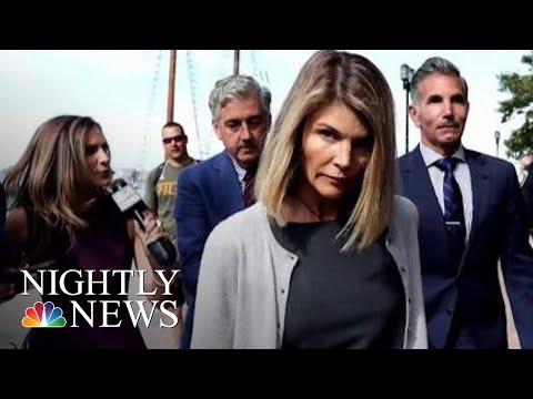 Lori Loughlin Hit With Another Felony Charge In College Entrance Scandal | NBC Nightly News
