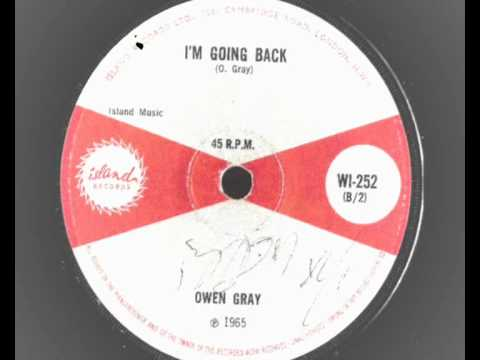 owen gray – i'm going back – island records(252) 1965 northern soul