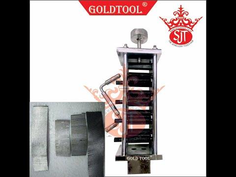 Gold Tool ZigZag Italian Machine Chakkapara Machine
