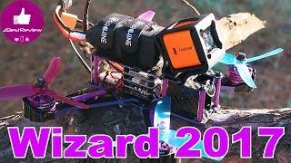 ✔ Финальный Тест Eachine Wizard X220S + EV100 + HS1177 650TVL! Banggood
