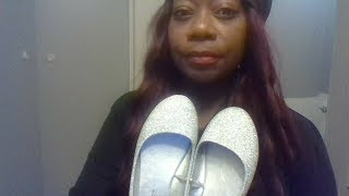NEW  SILVER BALLET FLATS || FIRST TIME TRY-ON N REVIEW