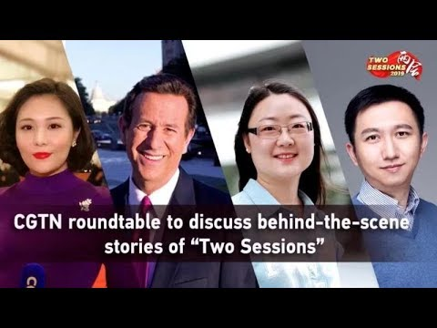 Two Sessions Roundtable: Government work report in eyes of media